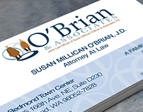 O'Brian and Associates Branding and Marketing Projects