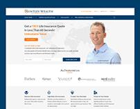 Huntley Wealth website