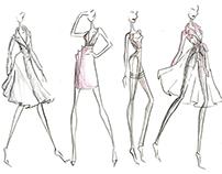 Advanced Fashion Sketching: Mock Burberry