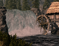 Skyrim Scene