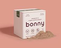 Brand Identity for Bonny Fiber Supplements