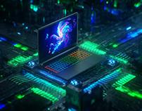 性能の怪獣-小米游戏本(MI Gaming-Notebook Concept Visuals)