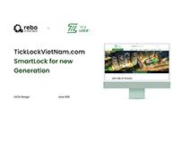 TICKLOCKVIETNAM | SMARTLOCK FOR NEW GENERATION