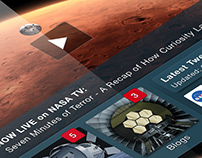Redesigning the NASA Mobile App - A UI/UX Study