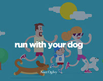 Run With Your Dog, A Friskies microsite