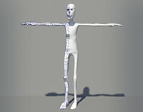 Basic Cartoon/Human Model 3d