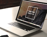 Free Macbook Pro Mockup 2