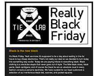 Black Friday Email Promotion