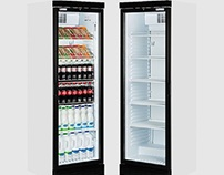Caravell CBC382 Glass Door Display Cooler 382 Ltr