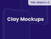 Apple Device Mockups - PSD, Sketch