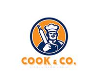 Cook & Co Kitchen Utensils Logo