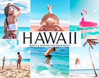 Free Hawaii Mobile & Desktop Lightroom Preset