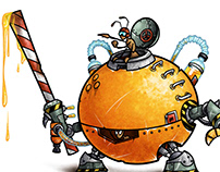 "MECH-ANTS: ""Orange"""