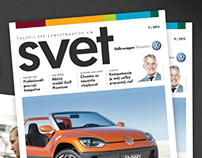 Magazin Design for VW Slovakia Proposal