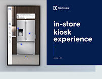 Electrolux In-Store Kiosk Experience