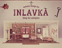 Online shop for antiques
