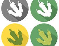 Dinosaur Paw Logos