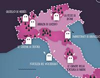 I luoghi stregati in Italia