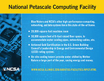 National Petascale Computing Facility Postcard