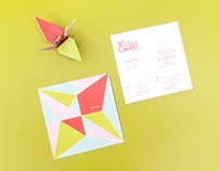Folding a Crane Bird with Ellie