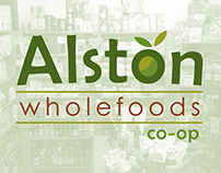 Alston Wholefoods Co-op Logo & Branding