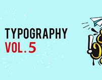 TYPOGRAPHY V.5