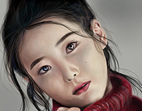 Digital Painting . IU