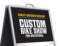 Custom Bike Show Signage 14'