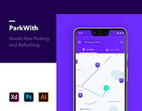 ParkWith - Android Design UI UX Project