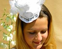 Wedding tophat by Ozmonda