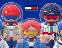 Art Toy- Tommy Hilfiger Celebrity Toys Collection