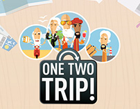 "Promo campaign ""Sages"" for OneTwoTrip"