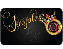 Senegalese Queen Logo and Instagram Design