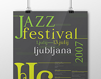 Posters for Jazz festival