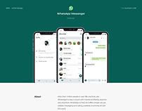WhatsApp Messenger Redesign