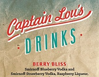 Captain Lou's Menu
