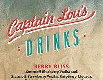 Captain Lou's Menu