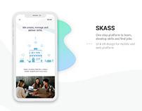 SKASS - UI/UX Design for mobile & web platform