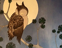 Mural: The Owl