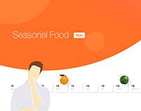 Seasonal Food App