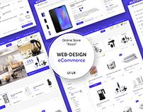 "eCommerce Online Store Design ""Assol"". UI UX"