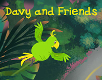 Davy and Friends Animated Cartoon Series