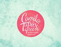 Logotipo Camila Tupiniquim