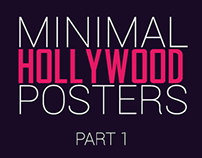 Minimal Hollywood Posters - Part 1