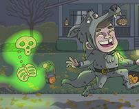 Halloween Illustrations 2015