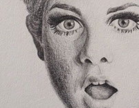 Drawing Twiggy