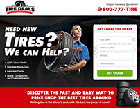 Tire Deals Landing Page