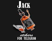 Jack stikers for Telegram