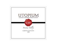 Brand Identity | Cassata-Sonoma Bottle Label | Branding