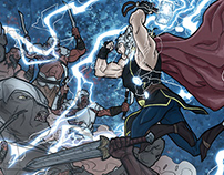 Thor & Red Sonja - Fan Art Comics